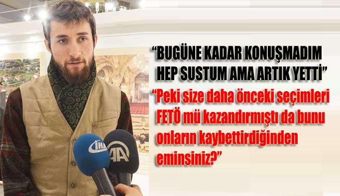 15 Temmuz darbe girişiminde hayatını kaybeden Yeni Şafak gazetesi foto muhabiri Mustafa Cambaz'ın oğlu Alpaslan Cambaz: Bugüne kadar konuşmadım hep sustum ama artık yetti
