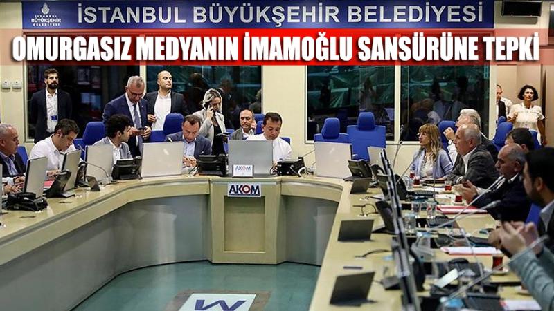 5,8'lik depremin ardından yalaka medyanın İmamoğlu sansürü tepki topladı