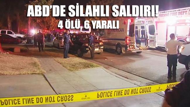 ABD'de bahçede maç izleyen aileye silahlı saldırı: 4 ölü, 6 yaralı