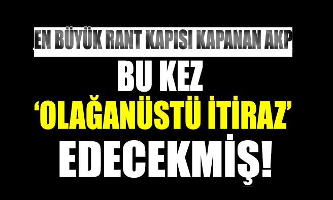 AKP, YSK'nın İstanbul kararına bu kez de olağanüstü itiraz edecekmiş!