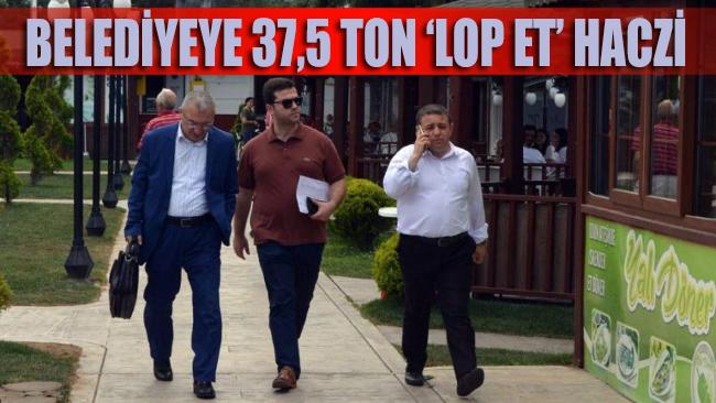 AKP'li başkandan miras belediyeye '37,5 ton lop et' haczi