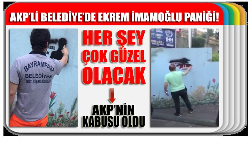AKP'li belediyede Ekrem İmamoğlu paniği!