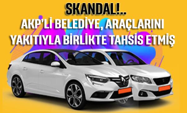 AKP'li belediyenin kiralık araçların tahsis skandalı Sayıştay raporuna da girdi
