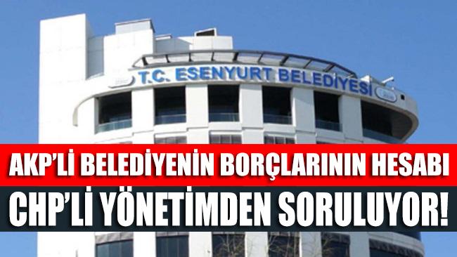 AKP'nin faturası CHP'ye kesildi