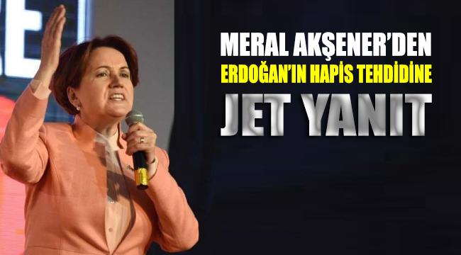 Akşener'den Erdoğan'a jet yanıt: Hodri meydan
