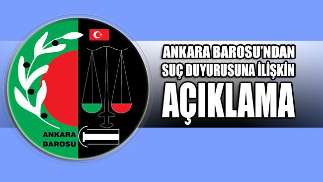 Ankara Barosu'ndan Diyanet'in suç duyurusuna ilişkin açıklama