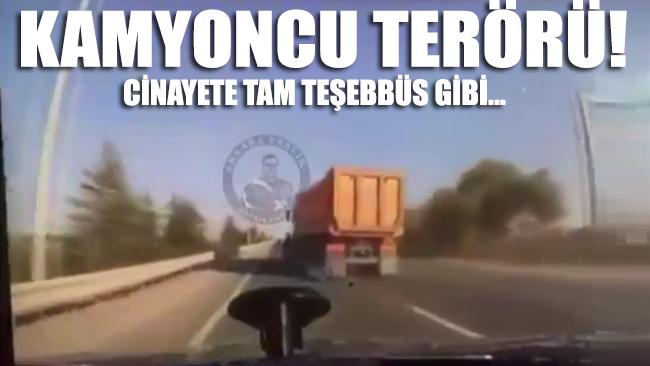 Ankara'da kamyon şoföründen cinayete teşebbüs: Şans eseri hayatta kaldı