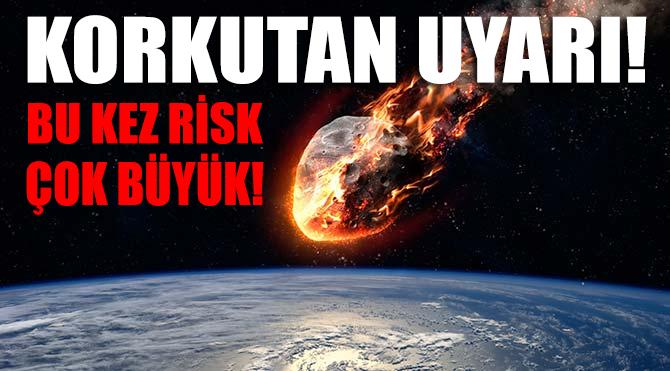 Avrupa Uzay Ajansı'ndan korkutan uyarı!