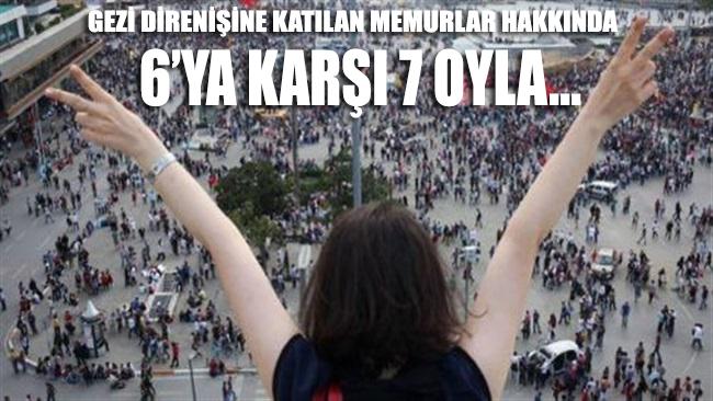 AYM'den, 'Gezi Parkı eylemleri'ne katılan memurlar hakkında karar