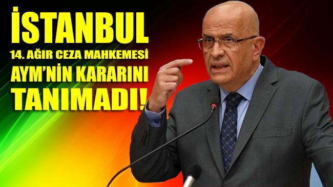 AYM'nin Berberoğlu için verdiği yeniden yargılama kararı reddedildi