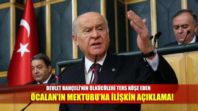 Bahçeli, Öcalan'ın tavsiyelerine uymadığı için HDP'ye sert eleştirilerde bulundu!