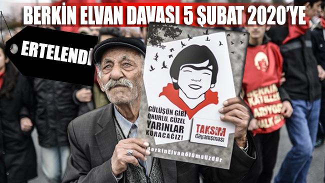 Berkin Elvan davası 5 Şubat 2020'ye ertelendi