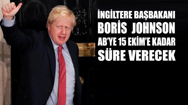 Brexit: İngiltere Başbakanı Johnson AB'ye ticaret anlaşması için 15 Ekim'e kadar süre verecek