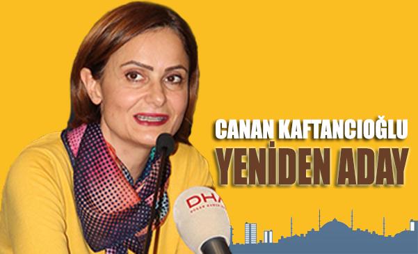 Canan Kaftancıoğlu aday olduğunu açıkladı