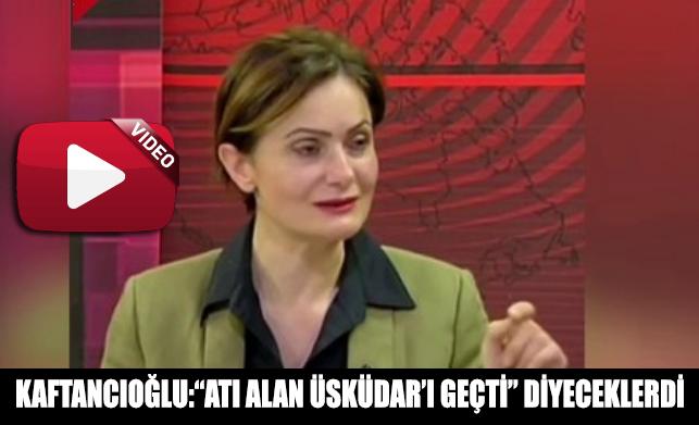 Canan Kaftancıoğlu canlı yayında seçim gecesine ilişkin önemli açıklamalarda bulundu