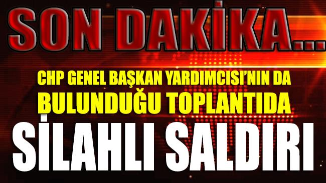 Akçadağ'da CHP'li Ağbaba'ya yönelik silahlı saldırı