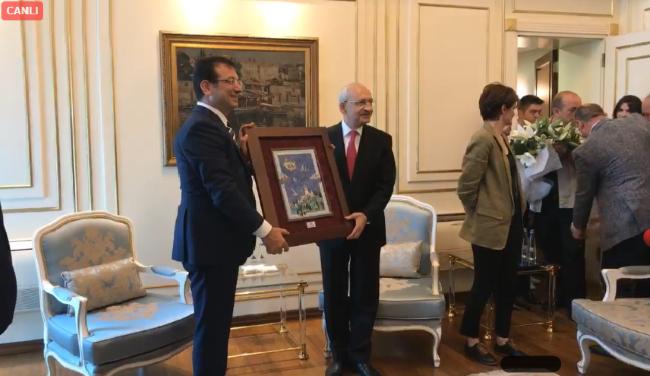 CHP Genel Başkanı Sn. Kemal Kılıçdaroğlu İBB'yi ziyaret etti