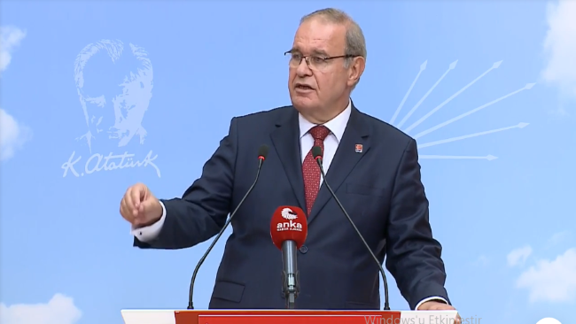 CHP Parti Sözcüsü Faik Öztrak: Kendinin dinlendiğinden haberi olmayan bir İçişleri Bakanı