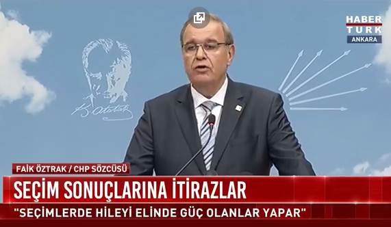 CHP Sözcüsü Faik Öztrak'tan çarpıcı açıklamalar!