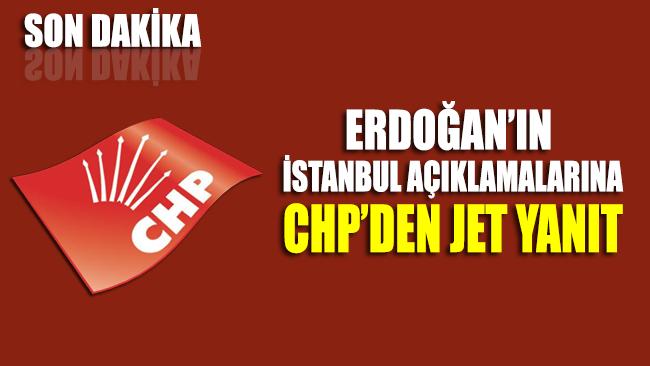 CHP'den Erdoğan'ın açıklamalarına yanıt: Soluğu Yüce Divan'da alabilirler