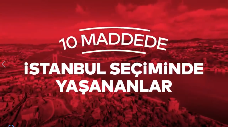 CHP'den seçimde yaşananlara dair 10 maddelik VİDEOLU yanıt