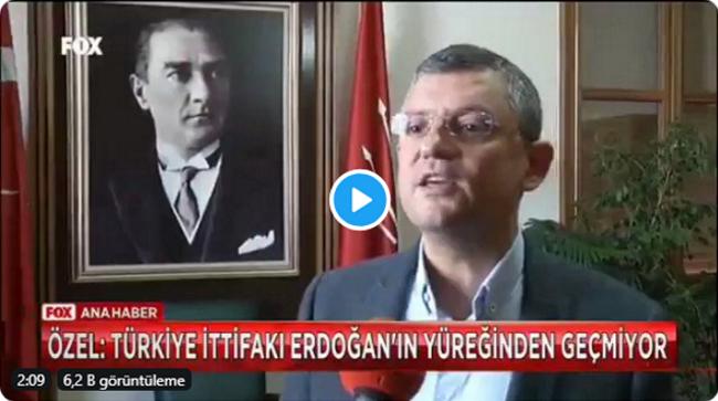 CHP'li Özgür Özel'den Erdoğan'ın 'Türkiye İttifakı' çıkışına çarpıcı yanıt