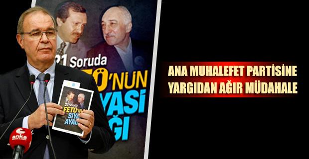 CHP'nin ''21 Soruda FETÖ'nün Siyasi Ayağı'' kitapçığına mahkeme yasağı