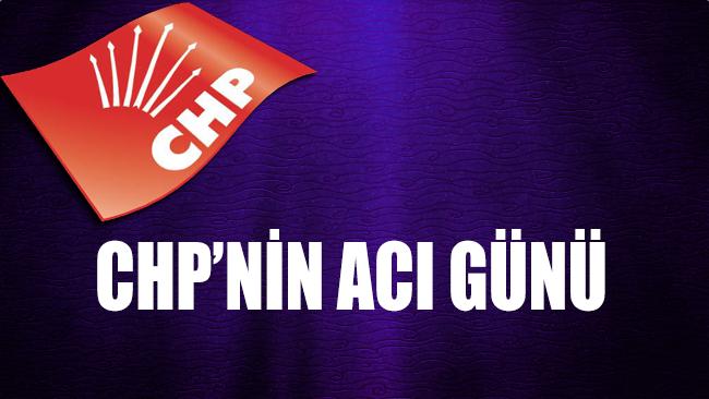 CHP'nin acı günü