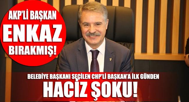 CHP'nin AKP'den aldığı belediyeye ilk günden haciz şoku!