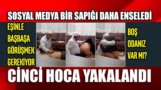Cinsel tacizden kaydı olan 'cinci hoca' yakalandı! Skandal görüntüler ortaya çıktı