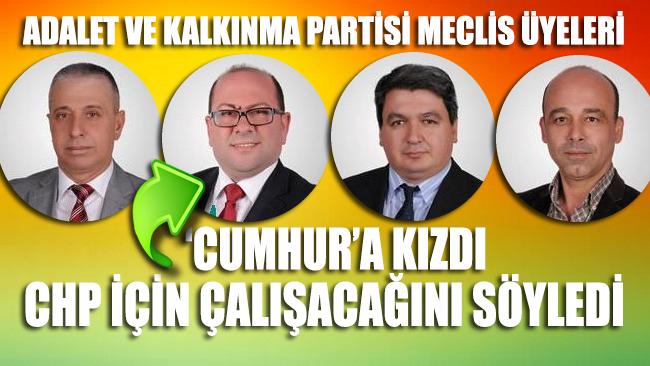 'Cumhur'a kızdı CHP için çalışacağını açıkladı!