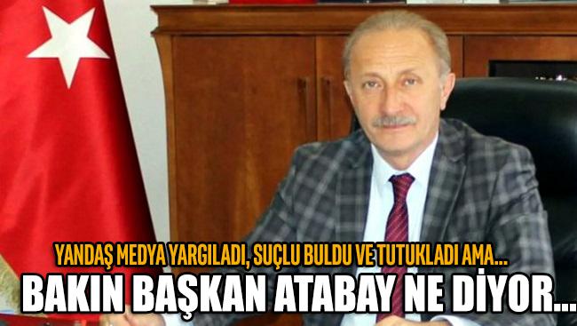 Didim Belediye Başkanı Ahmet Deniz Atabay'dan, yandaş medyanın hakkında ortaya attığı 'tutuklandı' iddialarına yanıt