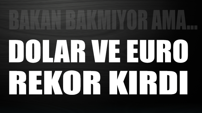Dolar ve Euro rekor kırdı, Türk parası eriyor! Piyasada son durum ve teknik analizler