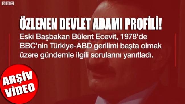 Ecevit'in 40 yıl önce Türkiye'ye ambargo uygulayan ABD ve NATO'ya diplomatik üslup ile resti... İZLEYİN