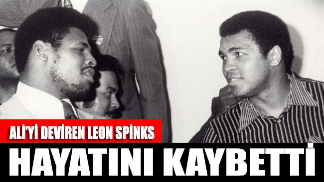 Efsane boksör Muhammed Ali'yi yenen Leon Spinks hayatını kaybetti