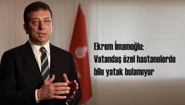 Ekrem İmamoğlu: 'İstanbul'daki vefat tablosu bizi ürkütüyor'