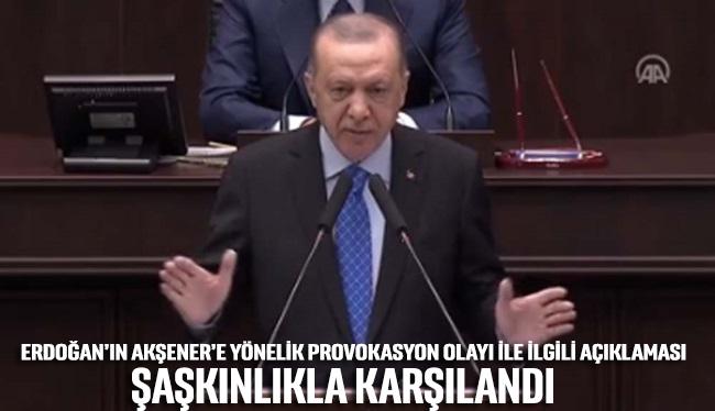 Erdoğan'dan Akşener'e provokasyon olayı ile ilgili ilginç açıklama: Gerekeni yaptılar, daha neler olacak neler