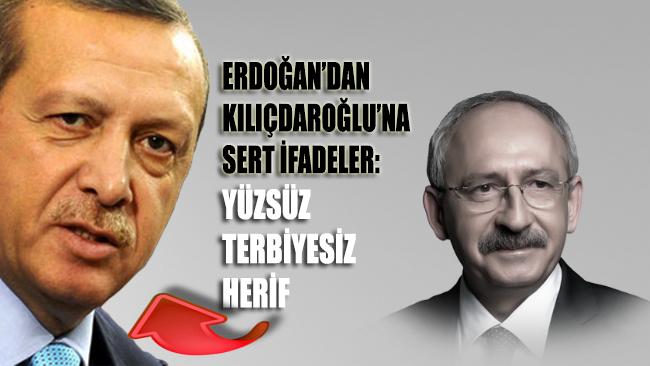 Erdoğan'dan Kılıçdaroğlu'na sert ifadeler; Yüzsüz, terbiyesiz herif