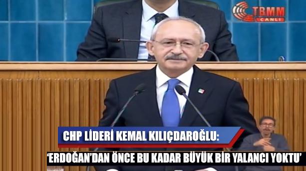 'Erdoğan'dan önce bu kadar büyük bir yalancı yoktu!'