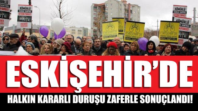 Eskişehir'de halkın iradesi kazandı! Termik santral yapımını Danıştay iptal etti