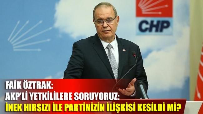 Faik Öztrak: