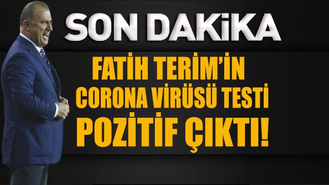Fatih Terim'in corona virüsü testi pozitif çıktı!