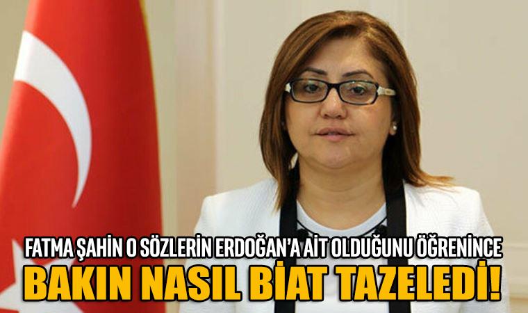 Fatma Şahin, 'CHP'li belediyelere FETÖ ve PKK benzetmesini doğru bulmuyorum' sözlerinden bakın nasıl çark etti