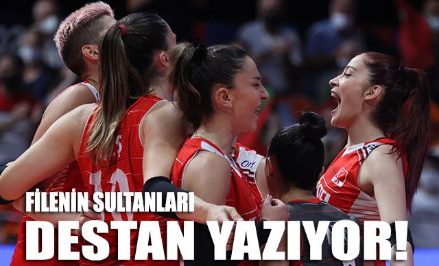 'Filenin Sultanları' destan yazıyor: Türkiye - Polonya 3-0