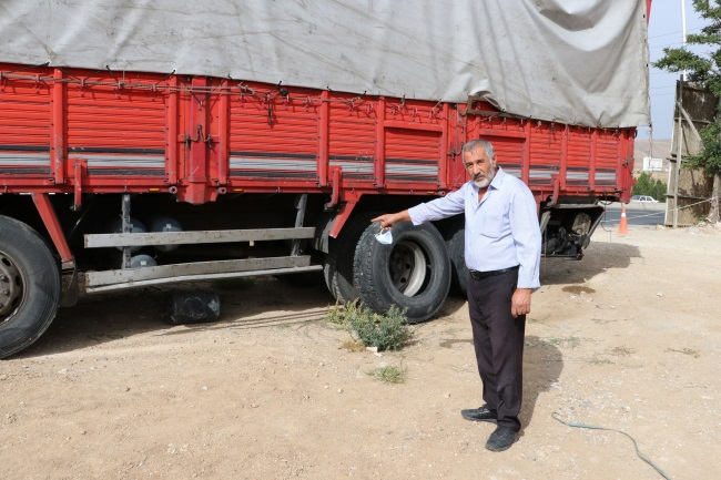 Freni boşalan kamyonu 2 kilometre geri gittikten sonra durdurmayı başaran sürücü konuştu