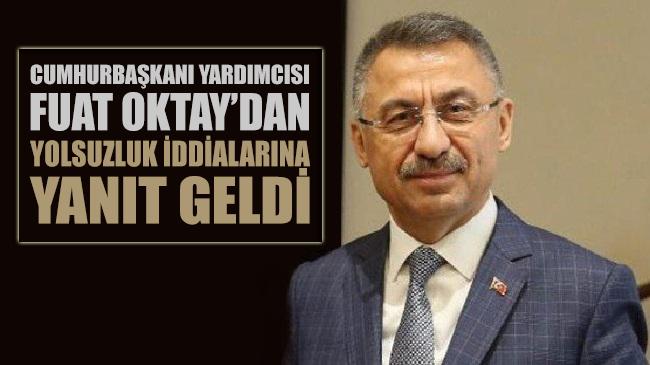 Fuat Oktay'dan Kılıçdaroğlu ve Özel'in 'yolsuzluk' sözlerine yanıt