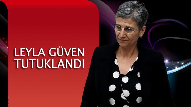 Hakkında tutuklama kararı çıkarılan Demokratik Toplum Kongresi Eş Başkanı Leyla Güven tutuklandı.