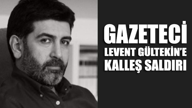 Halk TV programcısı Levent Gültekin saldırıya uğradı