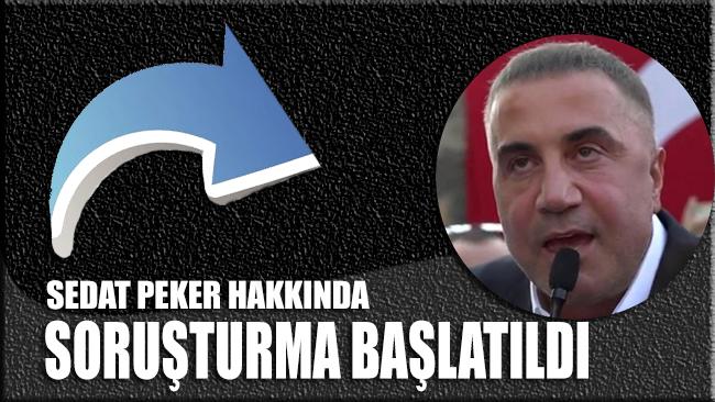 Halkı silahlanmaya çağıran Sedat Peker hakkında soruşturma başlatıldı