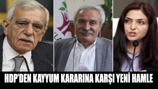 HDP'den kayyum kararına karşı yeni hamle: Yargıya gittiler